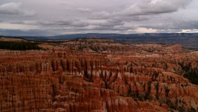 Bryce canyon sunset timelapse stock footage