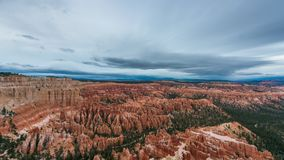 Bryce Canyon, Time Lapse de Utah almacen de metraje de vídeo