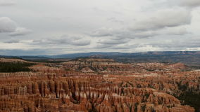 Bryce Canyon - Time Lapse. Time lapse of Bryce Canyon Utah.  Shot with a professional camera stock video