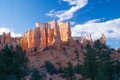 Bryce Canyon Towers Stock Images