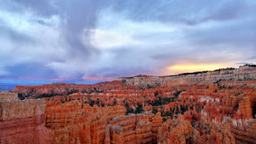 Bryce Canyon Twilight royalty-vrije stock foto