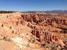 Bryce Canyon. USA trip 2014 royalty free stock photo