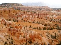 Bryce Canyon, Utah. Photo of the hoodoos in Bryce Canyon in southern Utah stock image