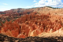Bryce Canyon Utah, Amerika Arkivbild