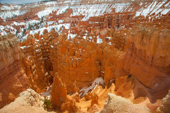 Bryce Canyon, Utah, de V.S. Royalty-vrije Stock Foto's