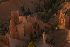Bryce Canyon, Utah Etats-Unis Stationnement national photos stock