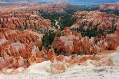 Bryce Canyon Utah, USA Arkivfoton