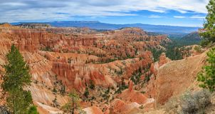Bryce Canyon Utah USA. Beautiful Landscape of Bryce Canyon National Park stock photos