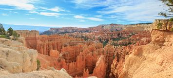 Bryce Canyon Utah USA. Beautiful Landscape of Bryce Canyon National Park stock photography