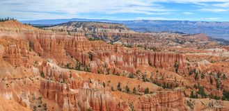 Bryce Canyon Utah USA. Beautiful Landscape of Bryce Canyon National Park stock photo