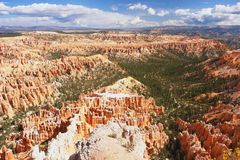 Bryce Canyon, Utah. View from Bryce Point in Bryce Canyon, Utah Royalty Free Stock Image