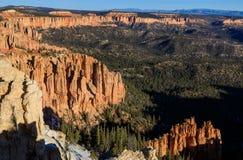 Bryce Canyon Utah Winter Landscape Lizenzfreie Stockbilder