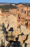 Bryce Canyon Utah Winter Landscape szenisch Lizenzfreie Stockfotografie
