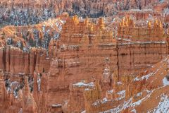 Bryce Canyon Utah in Winter Royalty Free Stock Photo
