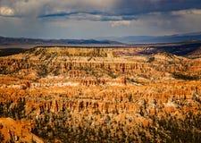 Bryce Canyon Valley van Legendemensen Stock Fotografie