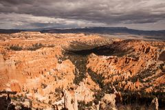 Bryce Canyon View Stock Afbeeldingen