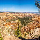 Bryce Canyon - View from Bryce point Stock Photos