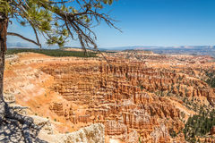Bryce Canyon - View from Inspiration Point Royalty Free Stock Photo
