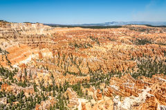 Bryce Canyon - View from Inspiration Point Royalty Free Stock Images