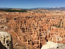 Bryce Canyon. View of Bryce Canyon National Park in Utah Stock Images