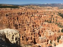 Bryce Canyon. View of Bryce Canyon National Park in Utah Stock Photo