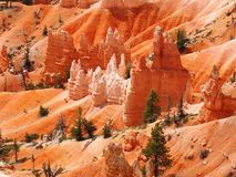 BRYCE CANYON, VIEW FROM SUNRISE POINT, UTAH royalty free stock photography
