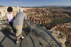 Bryce Canyon viewpoint Royalty Free Stock Photos