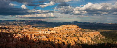 Bryce Canyon Vista Immagini Stock