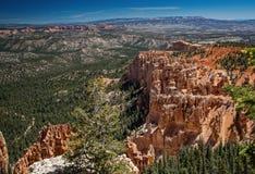 Bryce Canyon Vista Stock Foto's
