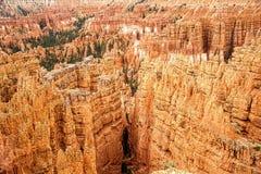 Bryce Canyon Vista spectaculaire Images libres de droits