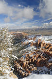 Bryce Canyon in winter stock image