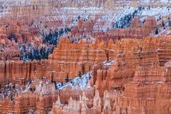 Bryce Canyon Winter Landscape Lizenzfreie Stockfotografie