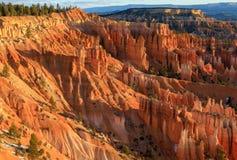 Bryce Canyon Winter Landscape scenico immagine stock libera da diritti