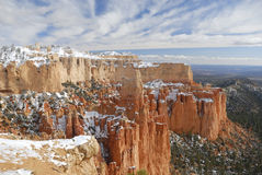 Bryce Canyon in winter at Paria Point Stock Image