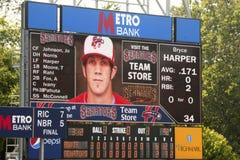 Bryce Harper Statistics Stock Photo