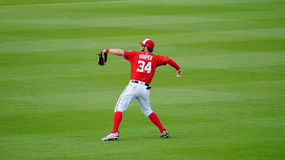 Bryce Harper Washington Nationals Outfielder Photos stock