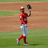 Bryce Harper Washington Nationals Outfielder Photos libres de droits