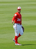Bryce Harper Washington Nationals Outfielder Images stock