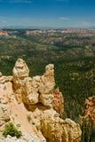bryce jaru formaci parka czerwieni skała Utah Zdjęcie Stock