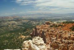 bryce jaru formaci parka czerwieni skała Utah Fotografia Royalty Free