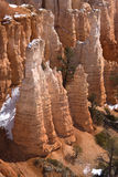 bryce jaru formacje piaskowcowe Zdjęcie Stock
