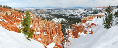 bryce jaru panorama Fotografia Stock