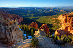 bryce jaru park narodowy Zdjęcie Stock