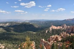 bryce jaru park narodowy Utah Zdjęcie Royalty Free