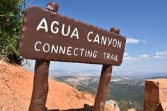 bryce jaru park narodowy Utah Obraz Royalty Free