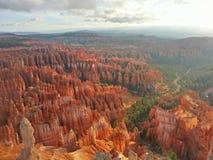 bryce jaru park narodowy wschód słońca obrazy stock