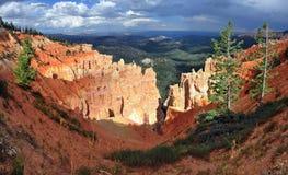 Bryce kanjon Arkivfoto