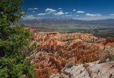 Bryce kanjon och det okända Arkivfoto