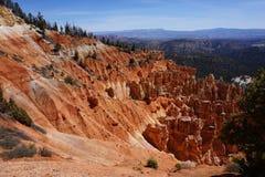 Bryce kanjon Rockscape Arkivfoton