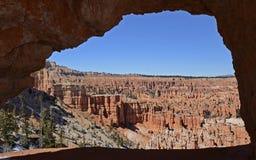 Bryce kanjon, Utah, USA Arkivfoto
